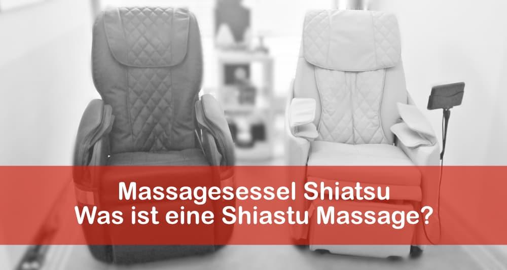 Massagesessel Shiatsu – was ist eine Shiastu Massage