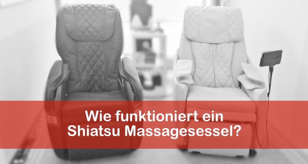 Wie funktioniert ein Shiatsu Massagesessel